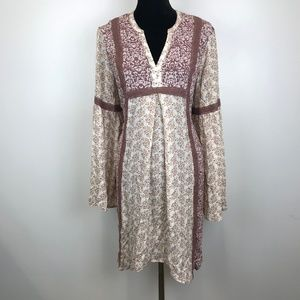 Knox Rose Floral Embroidered Shift Dress*